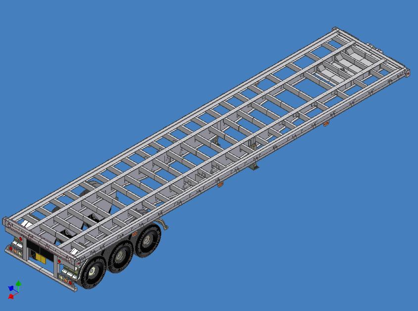 Estructuras de aluminio | Semirremolque