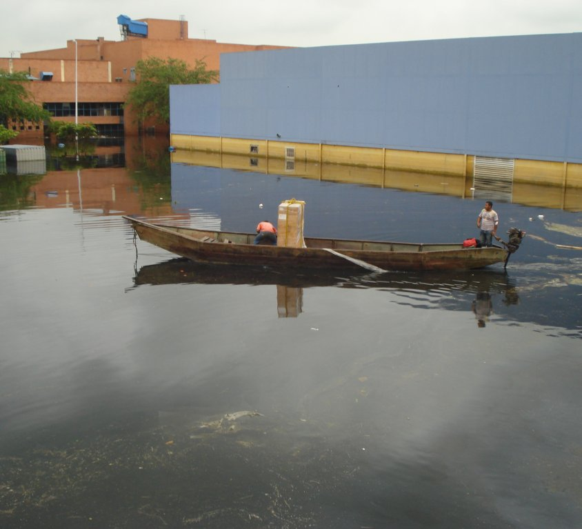 Inundación Zona Franca