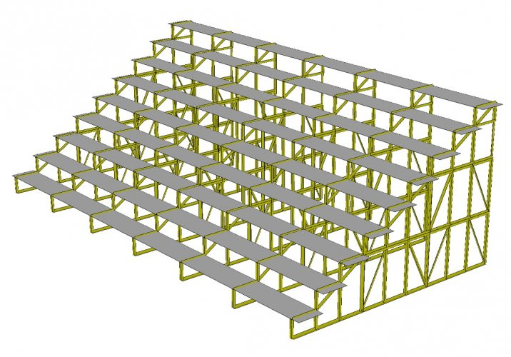 Estructuras de aluminio | Graderías